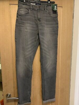 New Boys Grey Next Jeans Regular Age 15 Years