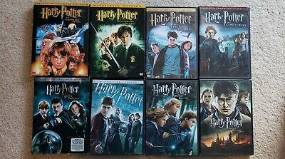 Harry Potter: Complete 8-Film Collection ( 8-Disc DVD Set)