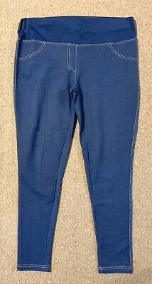 Atmosphere Maternity Blue Jeggings Denim Leggings Size 12