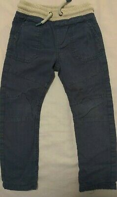 Toddler Boys F&F Adjustable Waist Lined Cargo Trousers Age 2-3 Years