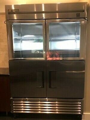 Stainless Steel Commercial Refrigerator TRUE TS-Series Reach-in-Combination