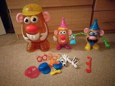 Mr & Mrs Potato Head & accessories and carry case