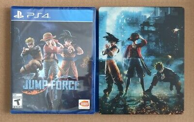 Jump Force with Collector's Edition Steelbook - PS4 - Playstation 4