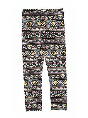 Copper Key Girls Black Leggings Medium kids