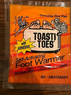 Toasti Toes Self- Activating Foot Warmer
