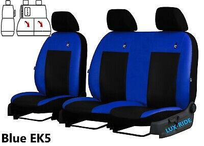 Vauxhal Vivaro 3100 Sportive 2019 2020 Eco Leather Tailored Front Seat Covers