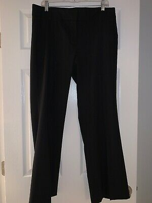 J. Crew Woman's Wool Black Dress Pants Favorite Fit Size 12 NEW WITH TAGS