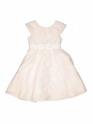 Jona Michelle Girls White Special Occasion Dress 7
