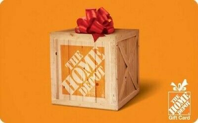 $25.00 Home Depot Gift Card