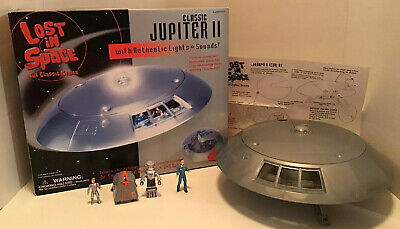 Trendmasters Classic Lost In Space Jupiter 2 Play Set Mint Complete Original Box