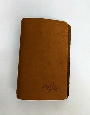 Leather Refillable Journal, Ash & Fir