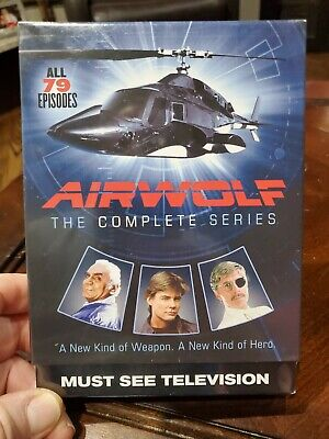 Airwolf: Complete Series DVD FREE SHIPPING