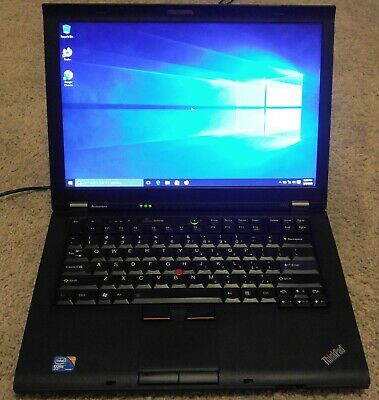 "IBM Lenovo ThinkPad T420 14.1"" Core i5-2540M 2.60GHz 4GB 320GB WINDOWS 10 PRO"