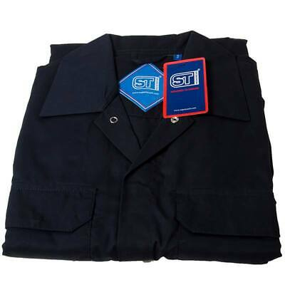 Polycotton Coverall Navy Small Regular Leg Chest 92cm-96cm - Supertouch 51901