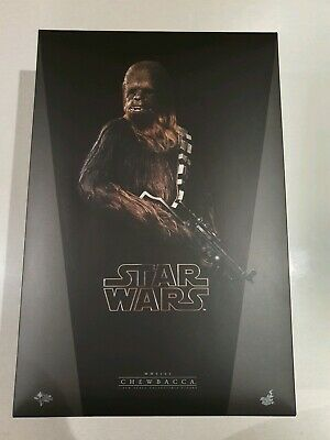Star Wars Hot Toys Chewbacca Chewy A New Hope Mint mms262 1/6 Figure