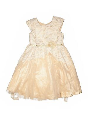 Jona Michelle Girls Brown Special Occasion Dress 10