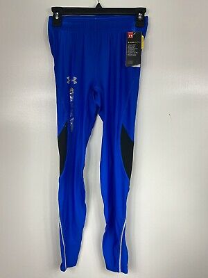 Under Armour UA CoolSwitch Mens Running Leggings Size Med 1290258 Blue NWT $65