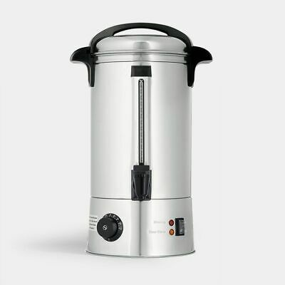 Luxury Variable Temp Catering Urn 8L Stainless Steel Electric Events