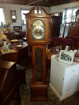 Grandfather Clock with Westminster Chimes