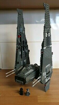 Lego Star Wars 75104 Kylo Ren's Command Shuttle +Instructions perfect condition