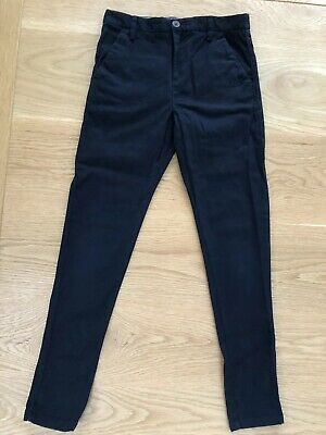 NEXT boys smart blue chino style jeans. Age 9. Excellent condition.