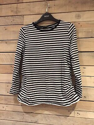 2x Mothercare Blooming Marvellous Size L Maternity Stripey Tops Bundle (14/16)