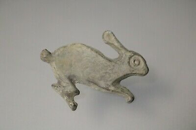 Ancient Fantastic Roman Bronze Fibula Brooch * Rabbit  1st - 4th AD