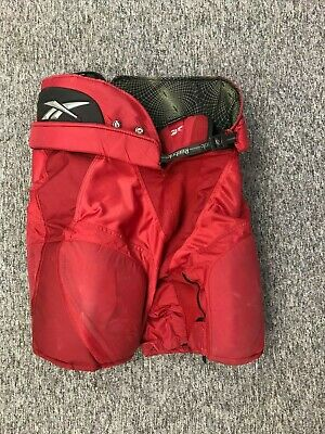 Reebok 9k Hockey Pants - Senior XL - Used - Red - Excellent Condition
