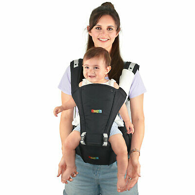 HipSeat Baby Carrier Backpack 4 in 1 Front Facing Ergonomic Design for Toddlers