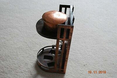 Rennie Mackintosh Handcrafted Pipe Rack & Tobacco Box.
