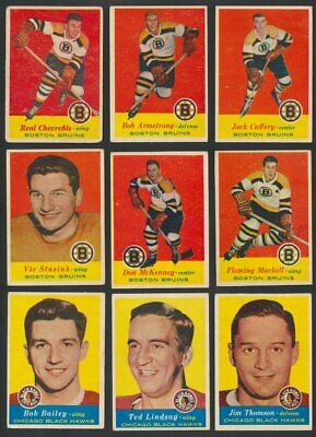 1957-58 Topps NHL Hockey Cards   U-Pick Choose Single Cards to Complete Set  USA