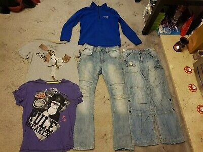 Bundle Boys Clothing Age 11-12 Next Jeans Regatta