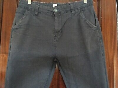 Boys NEXT Dark blue Chinos Age 16 *EUC*