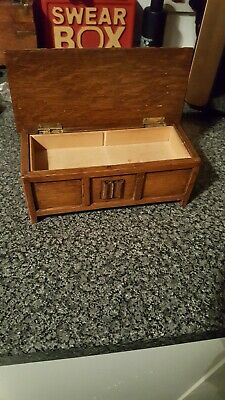"""Vintage """"Tallent"""" Of Old Bond Street, London Wooden Musical Jewelry Box"""