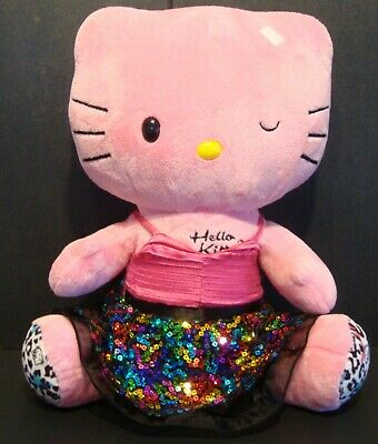 Hello Kitty Pink Winking Leopard Build A Bear Bab No Bow