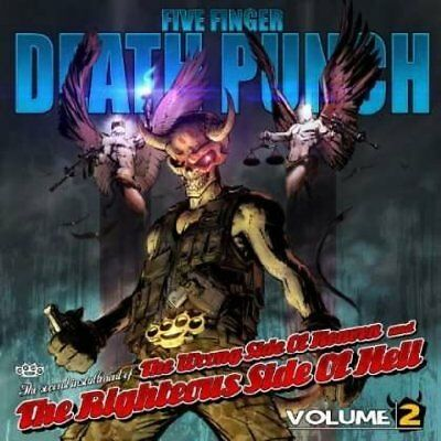FIVE FINGER DEATH PUNCH - WRONG SIDE OF HEAVEN RIGHTEOUS SIDE... Vol.2 CD *NEW*