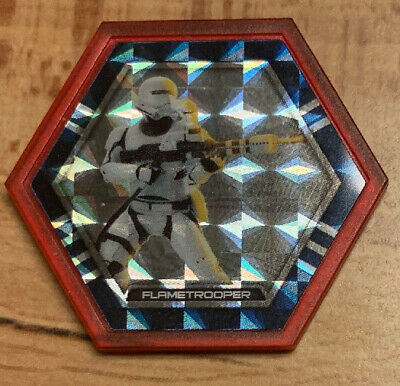 Star Wars Topps Galactic Connexions Ultra Rare Red Foil Flame Trooper