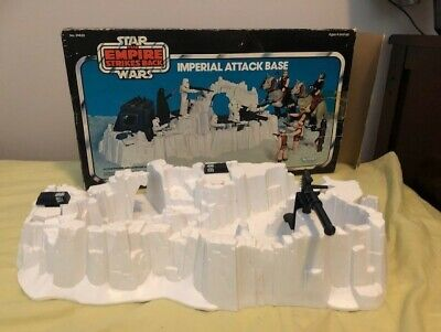 Vintage Star Wars ESB IMPERIAL ATTACK BASE with box 1980 Kenner