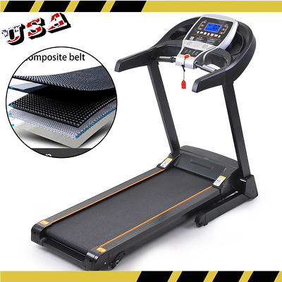 Folding 750W Treadmill Electric Motorized Power Running Jogging Fitness Machine]
