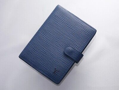 H7749M Authentic Louis Vuitton Epi Agenda Notebook Cover PM *Defect