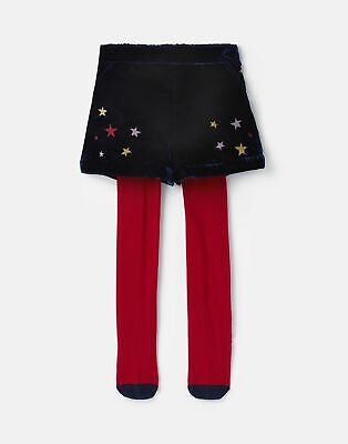 Joules Girls Hope Tights And Short Set  - NAVY STAR