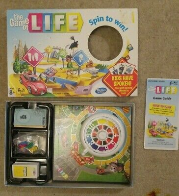 Hasbro The Game Of Life Spin To Win 2013 board game