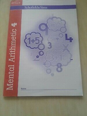Mental Arithmetic Book 4, Key stage 2 by Schofield & Sims New Paperback Book