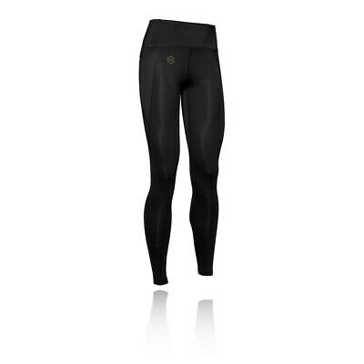 Under Armour Womens Rush Leggings Bottoms Pants Trousers Black Sports Gym