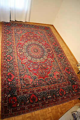 Alter PERSER TEPPICH  | 274x421 | handgeknüpft | old handknotted persian rug