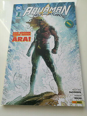 Aquaman Nr. 1 - Held von Atlantis - Panini 12-2019