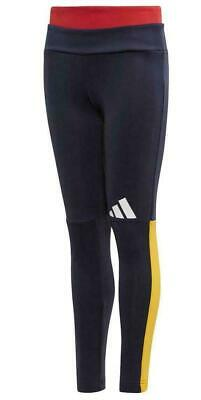 Girls Adidas  Id Pack Leggings Legend Ink Age 5-12  Bnwt Reduced Today