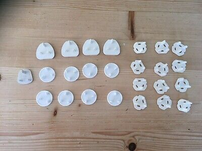 26 x Baby Safety Plug Covers for around the home various designs.