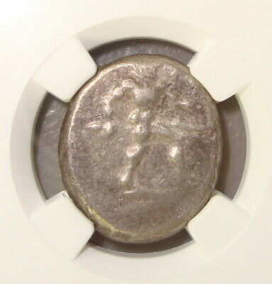 5th Century BC Pamphylia, Aspendus Ancient Greek Silver Stater NGC F
