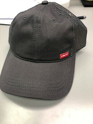 New Hilti Power Tools Adjustable Strapback Baseball Cap Red Gray Holiday Gift